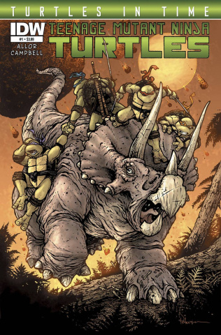 Teenage Mutant Ninja Turtles: Turtles in Time #1