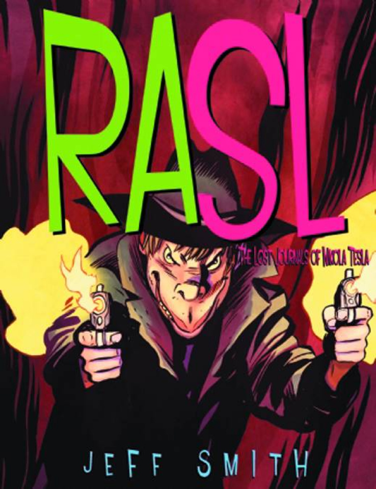 RASL Vol. 4: The Lost Journals of Nikola Tesla
