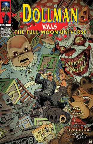 Dollman Kills the Full Moon Universe #1 (Tony Moore Cover)