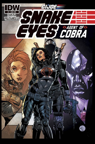 G.I. Joe: Snake Eyes - Agent of Cobra #4 (Subscription Cover)