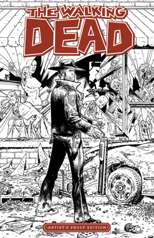 Image Giant-Sized Artists Proof: The Walking Dead #1