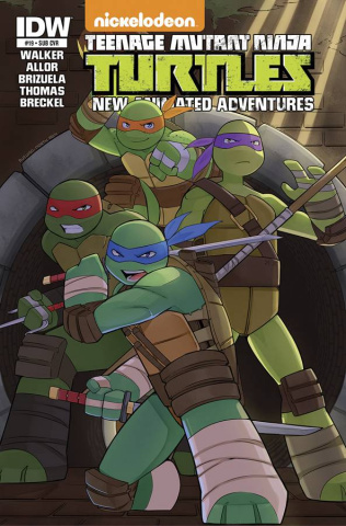 Teenage Mutant Ninja Turtles: New Animated Adventures #19 (Subscription Cover)