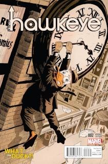 All-New Hawkeye #2 (Francavilla WTF Cover)