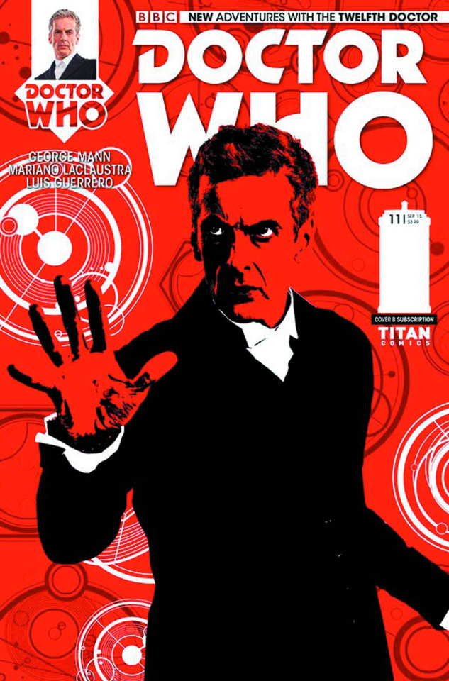 Doctor Who: New Adventures with the Twelfth Doctor #11 (Subscription Cover)