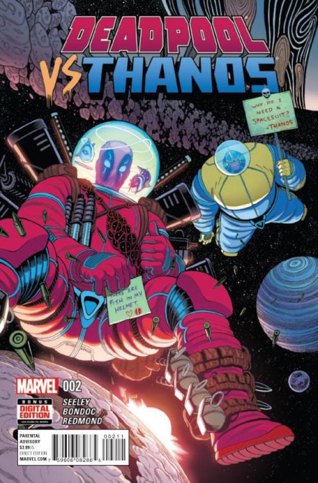 Deadpool vs. Thanos #2