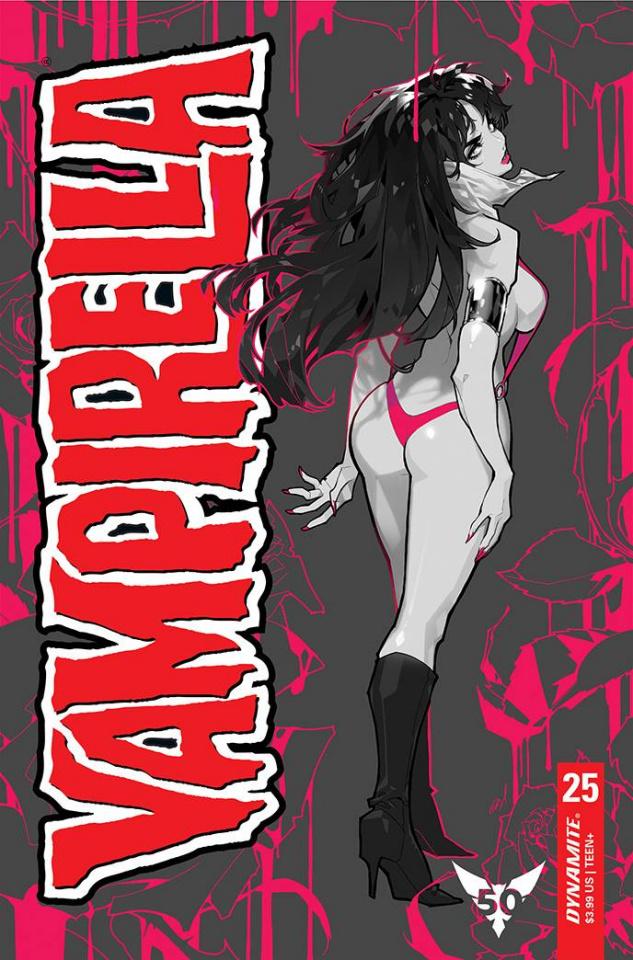 Vampirella #25 (15 Copy Besch Mono Cover)