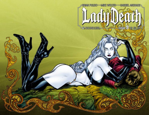 Lady Death #9 (Wrap Cover)