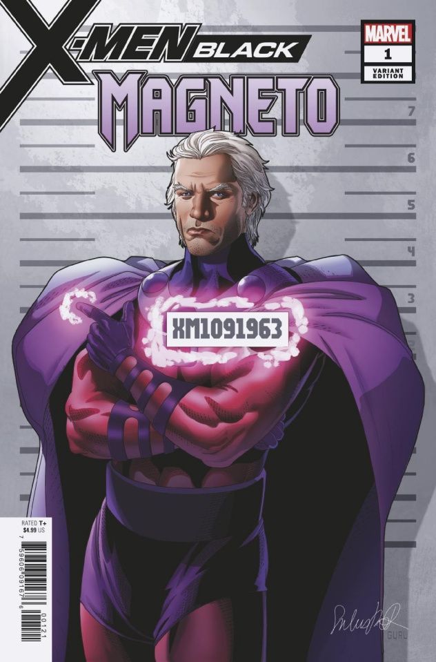 X-Men: Black - Magneto #1 (Larroca Mugshot Cover)