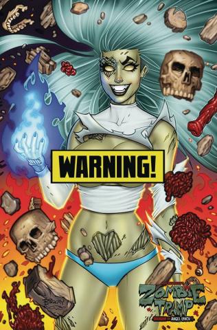 Zombie Tramp #57 (McKay Virgin Risque Cover)