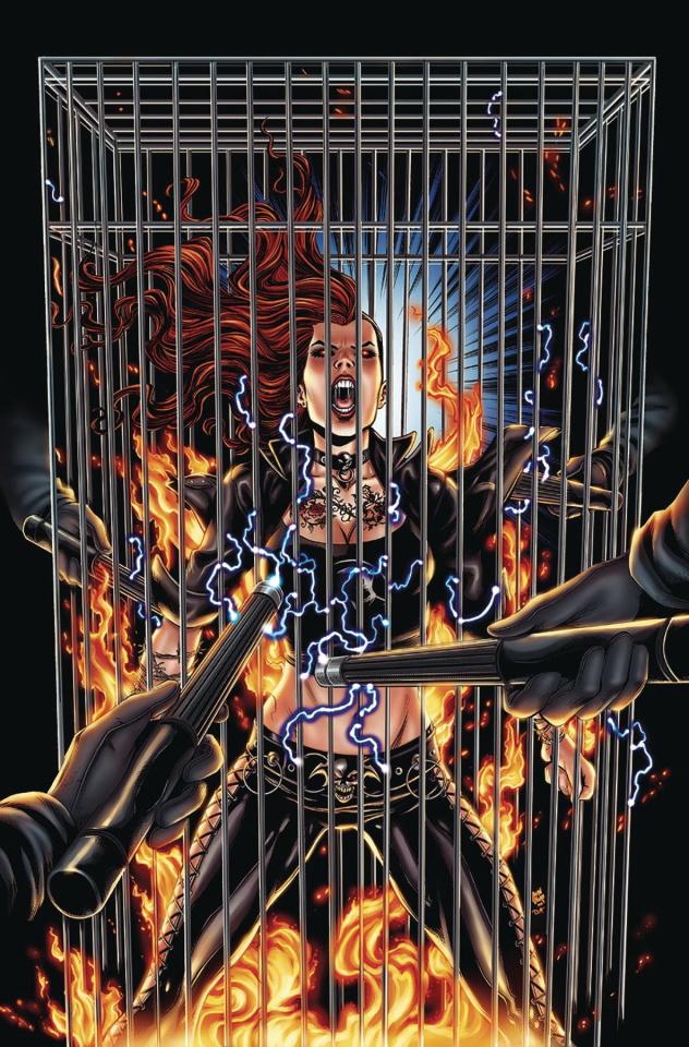Hellchild: Blood Money #3 (Otero Cover)