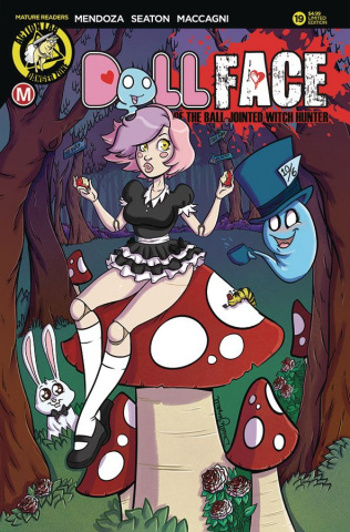 Dollface #19 (Gransaull Pin-Up Cover)