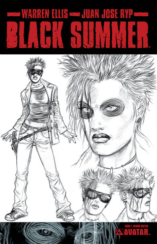 Black Summer #1 (Design Sketch Cover)