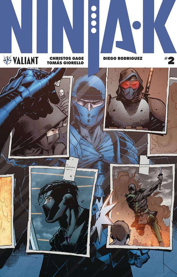 Ninja-K #2 (Hairsine Cover)