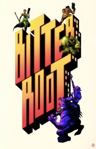Bitter Root #13 (Greene Beat Street Cover)