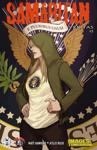 Samaritan: Veritas #3 (Images of Tomorrow Cover)