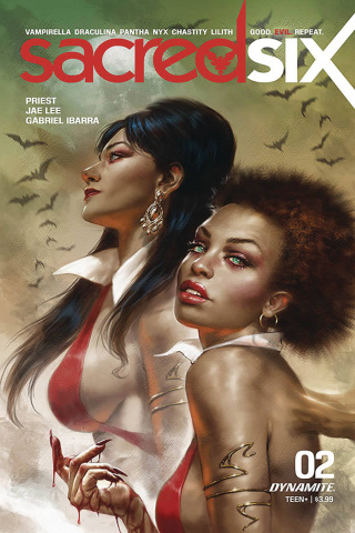 Sacred Six #2 (Parillo Cover)