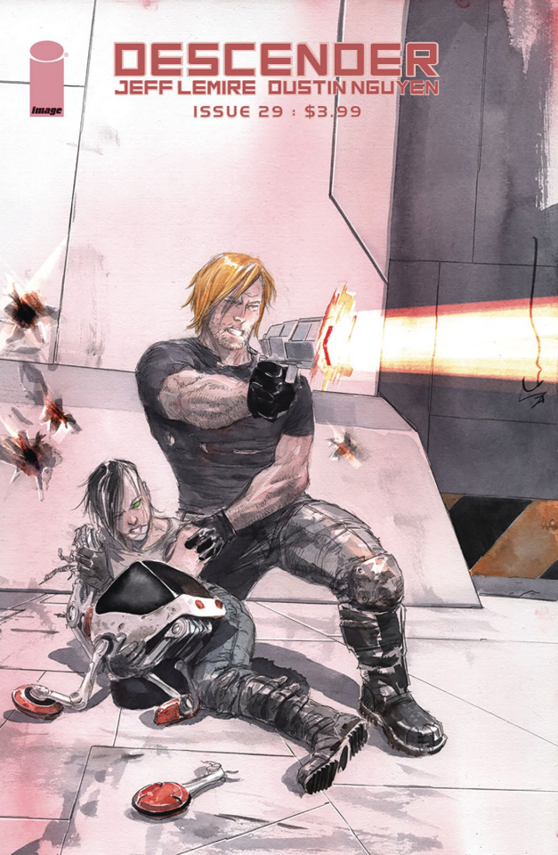 Descender #29 (Nguyen Cover)