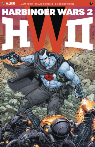 Harbinger Wars 2 #2 (20 Copy Interlocking Cover)