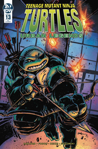 Teenage Mutant Ninja Turtles: Urban Legends #13 (10 Copy Eastman Cover)