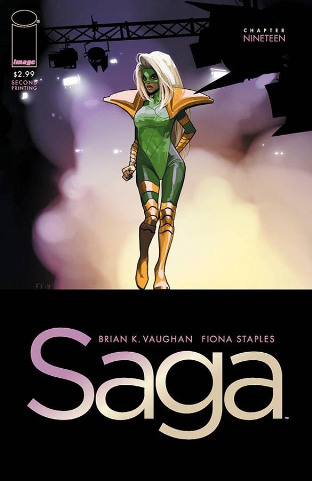 Saga #19 (2nd Printing)