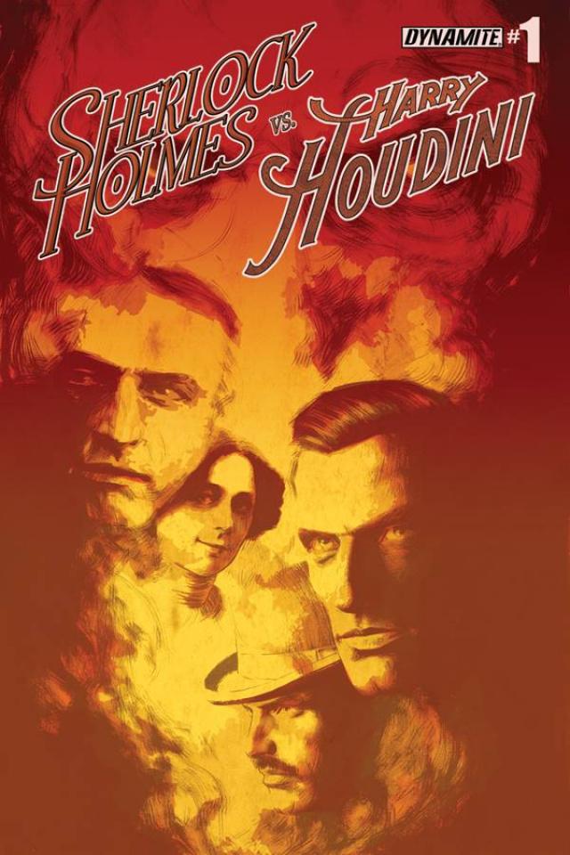Sherlock Holmes vs. Harry Houdini #1 (Campbell Cover)