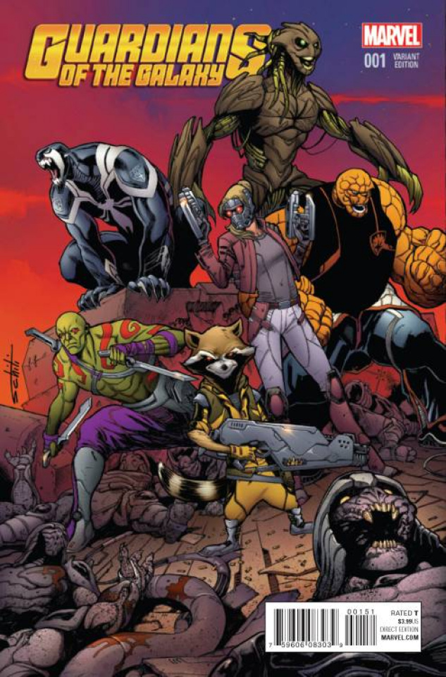 Guardians of the Galaxy #1 (Schitti Cover)