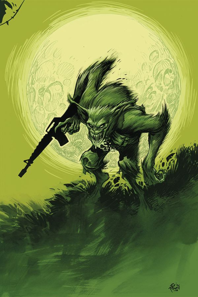 'Namwolf #1 (Special Powell Cover)