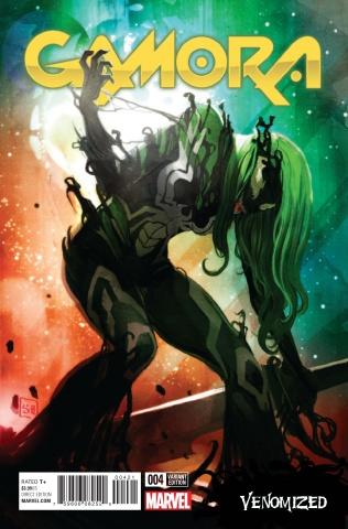 Gamora #4 (Hans Venomized Cover)
