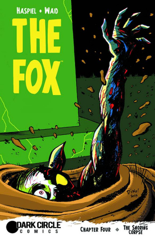The Fox #4 (Haspiel Cover)