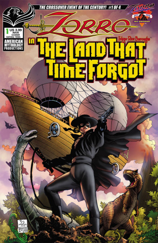 Zorro in the Land That Time Forgot #1 (Martinez Cover)