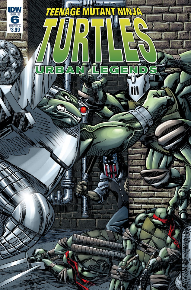 Teenage Mutant Ninja Turtles: Urban Legends #6 (Fosco Cover)