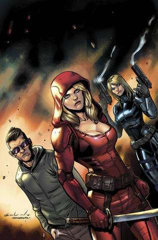 Grimm Fairy Tales: Red Agent #3 (Galindo Cover)