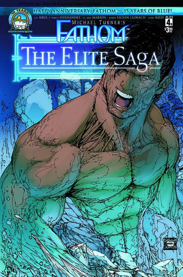 Fathom: The Elite Saga #4 (Caldwell Cover)