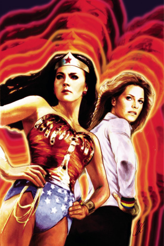 Wonder Woman '77 Meets The Bionic Woman #1 (10 Copy Cover)