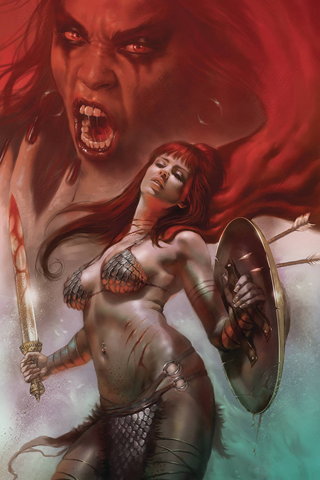 Red Sonja: Age of Chaos #5 (Parrillo CGC Graded Cover)