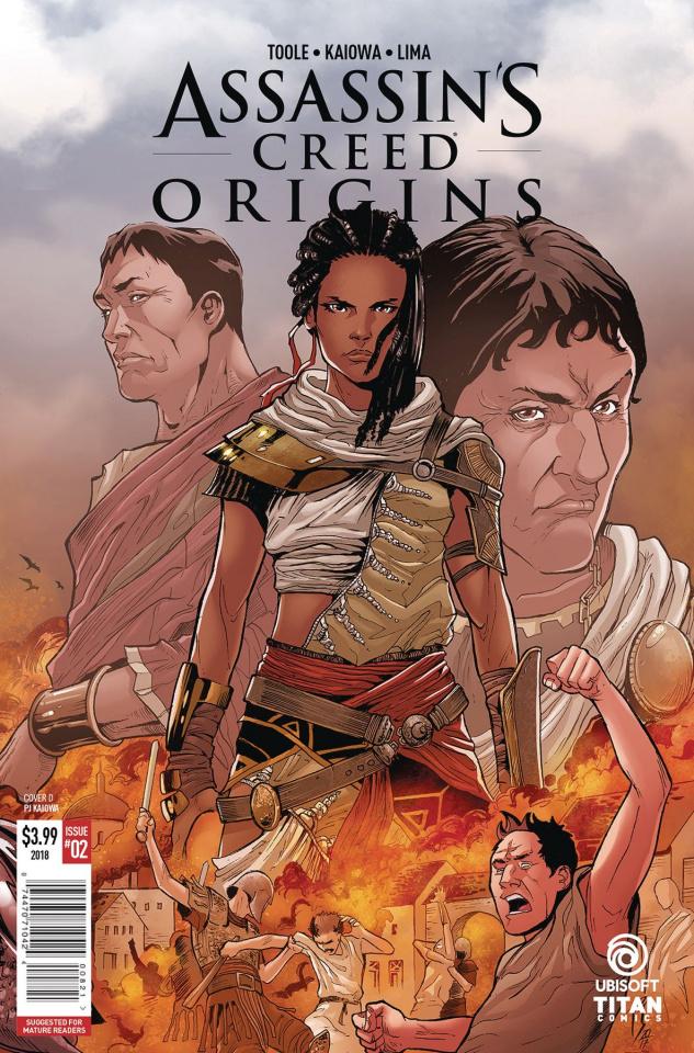 Assassin's Creed: Origins #2 (Kaiowa Cover)