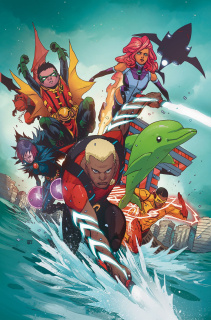 Teen Titans Vol. 2: The Rise of Aqualad - Rebirth
