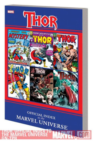 The Official Index To Marvel Universe: Thor