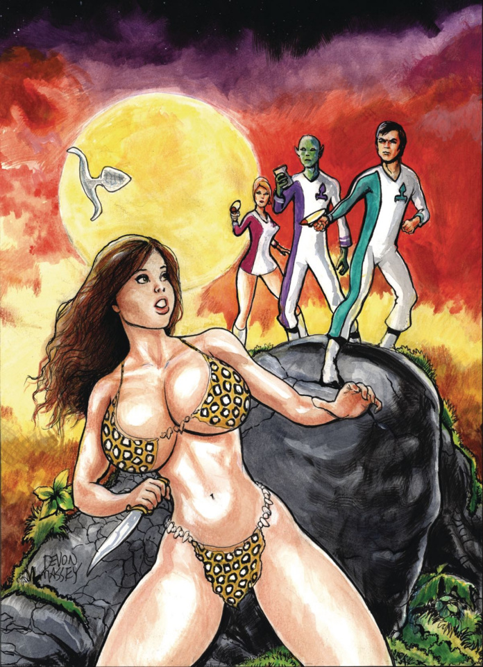 Cavewoman: Starship Blish #1 (Massey Cover)