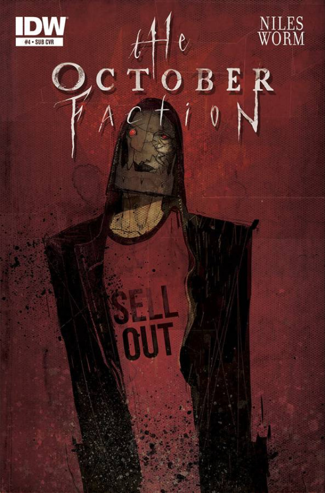The October Faction #4 (Subscription Cover)