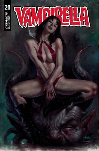 Vampirella #20 (Parrillo Cover)