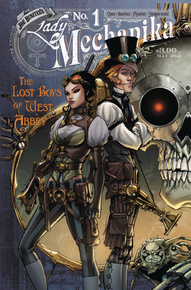Lady Mechanika: The Lost Boys of West Abbey #1 (10 Copy Cover)