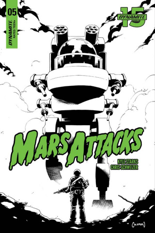 Mars Attacks #5 (20 Copy Coleman B&W Cover)