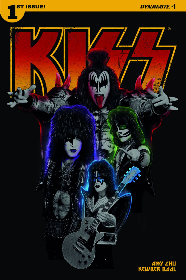 KISS #1 (Photo Cover)