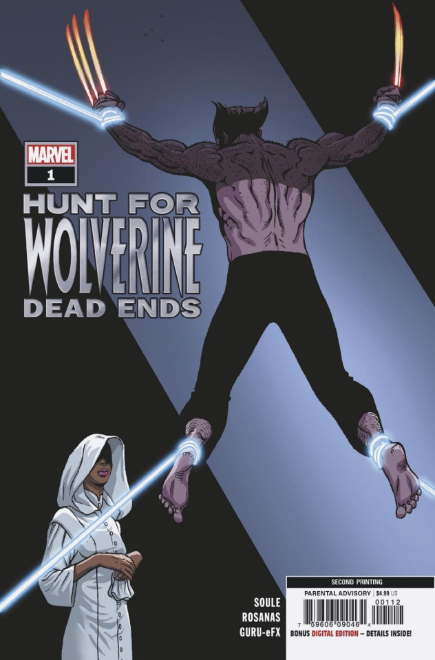Hunt for Wolverine: Dead Ends #1 (Rosanas 2nd Printing)