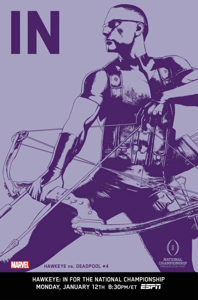 Hawkeye vs. Deadpool #4 (IN Cover)