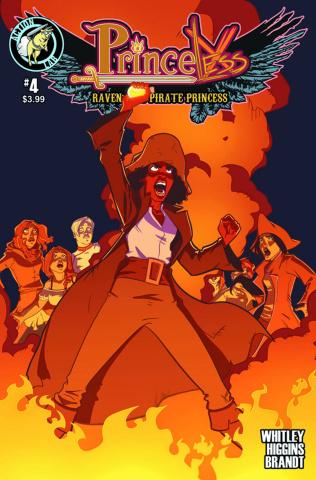 Princeless: Raven, The Pirate Princess #4