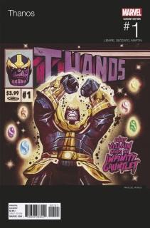 Thanos #1 (Del Mundo Hip Hop Cover)
