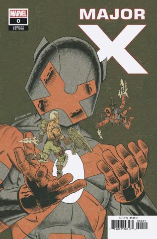 Major X #0 (Piskor Cover)