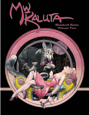 Michael Kaluta: Sketchbook Series Vol. 4